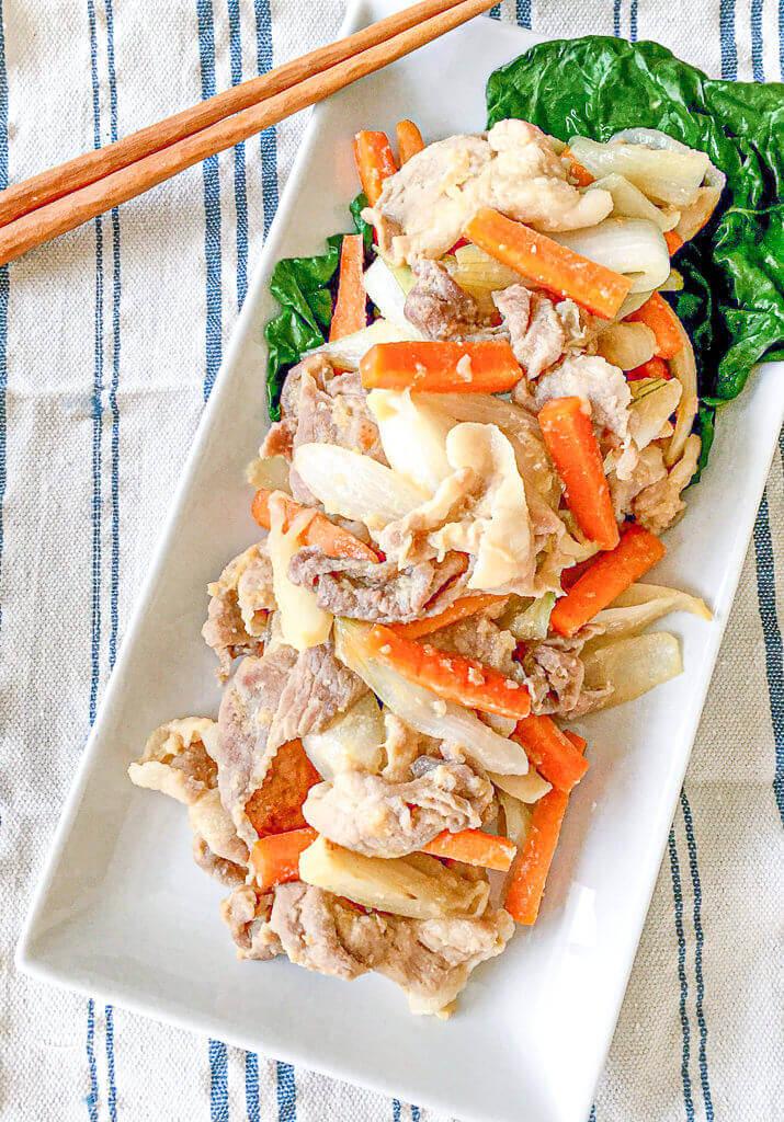 豚肉のうまうま味噌炒め