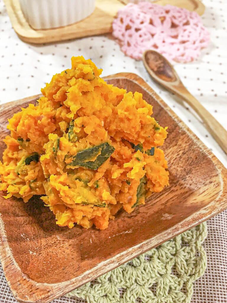 マヨなしかぼちゃサラダレシピ