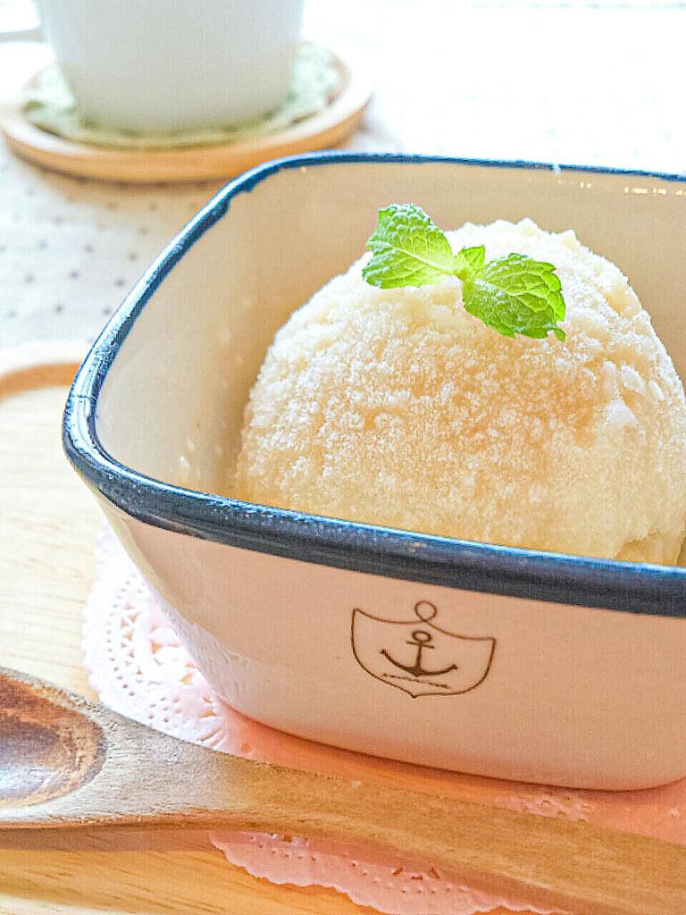 れんこん豆乳アイス