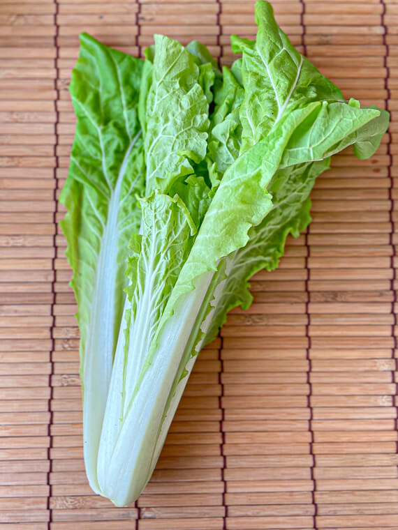 べか菜(はくさい菜、山東菜)で