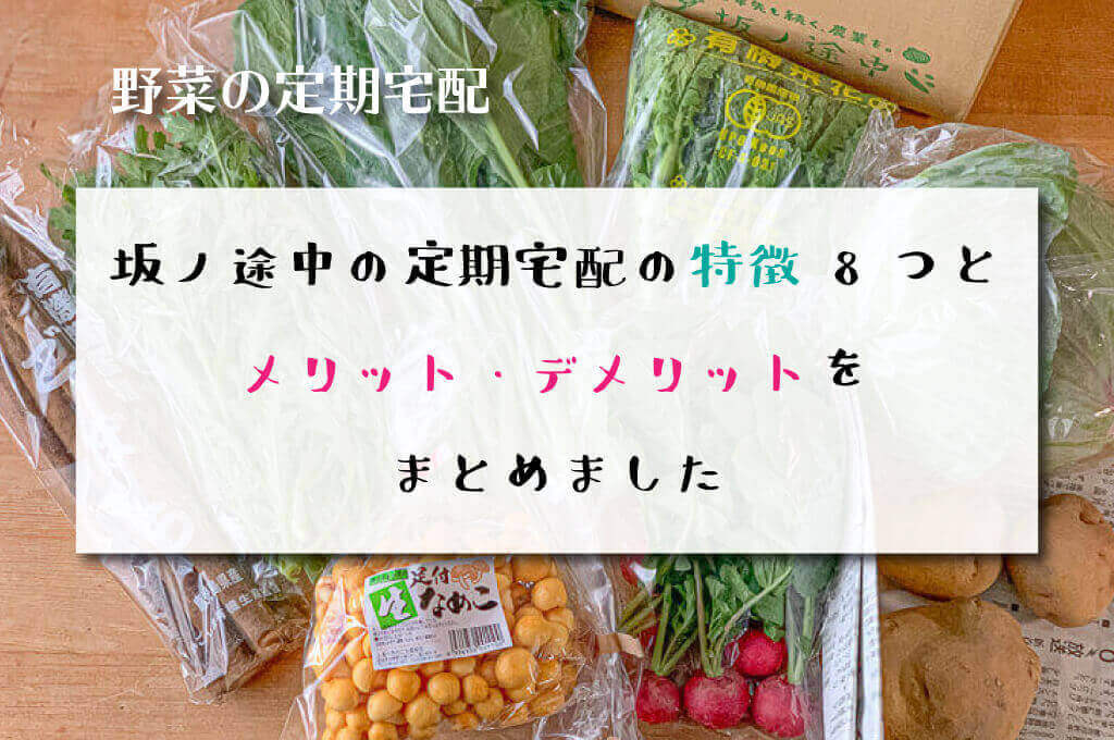 坂ノ途中の定期宅配の特徴とメリット・デメリット